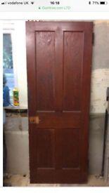 Original Douglas Fir Door