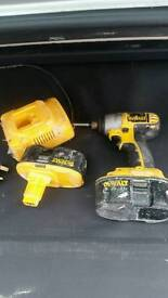 Impact Driver 18 W used