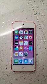 Pink Apple Ipod Touch used once excellent condition 16 GB
