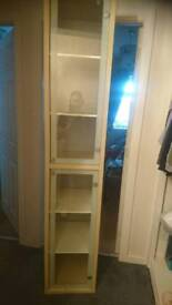 Tall solid display / bathroom cabinet