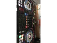 Pioneer DDJ-SZ - Four Channel controller for Serato with magma flight case