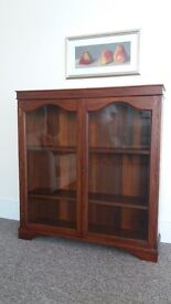 Beautiful Solid Wood Bookcase/Cabinet