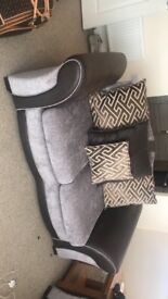 2x 2 seater settee 6 month old