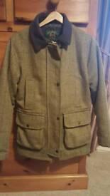 Ladies tweed coat size 12