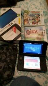 3ds XL blue dragonball z zelda pokemon nintendo game console