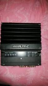 Alpine car Amp