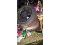 205 Speedlines all good tyres 4x108 saxo 106 vts gti vtr alloys