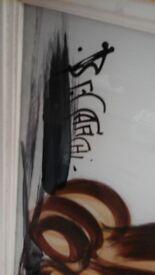 Dog painting by beccafichi