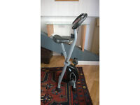 Folding exercise bike - FREE DELIVERY - Portsmouth. For sale due to lack of use