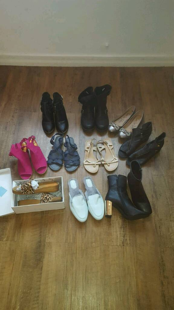 Womens shoes size 7in Southampton, HampshireGumtree - Womens shoes all size 7 apart from Blue fluffy sliders which are an 8 but fit a 7. Some are brand new others worn once