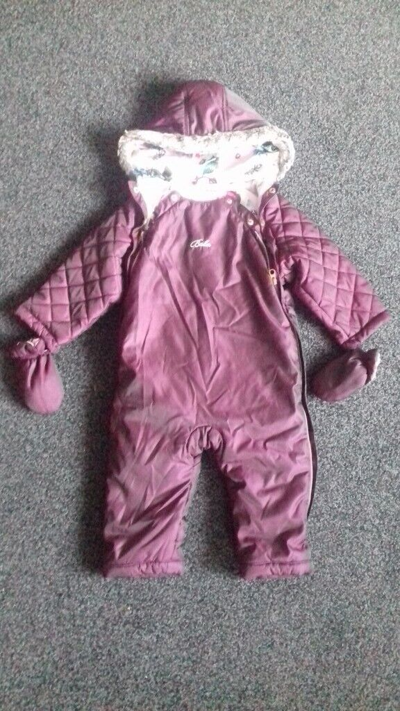 1c4ed8eed8f0 Ted Baker snowsuit age 12-18 18-24