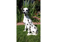 Large Italian ceramic Dalmatian dog