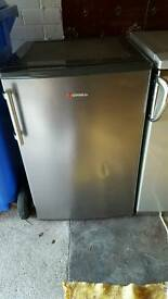 Hoover silver undercounter fridge