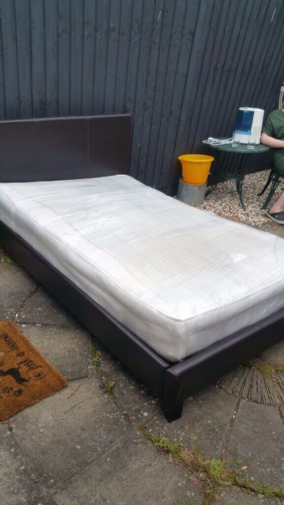 Small 4ft double bed with mattress | in St Neots ...