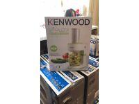 Kenwood spiralizers x6