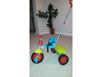 Smart Trike Fun green and blue age 15 to approx 36 months