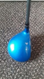 Cobra King f6 fairway 5 wood with headcover and adjustment tool . Right Handed