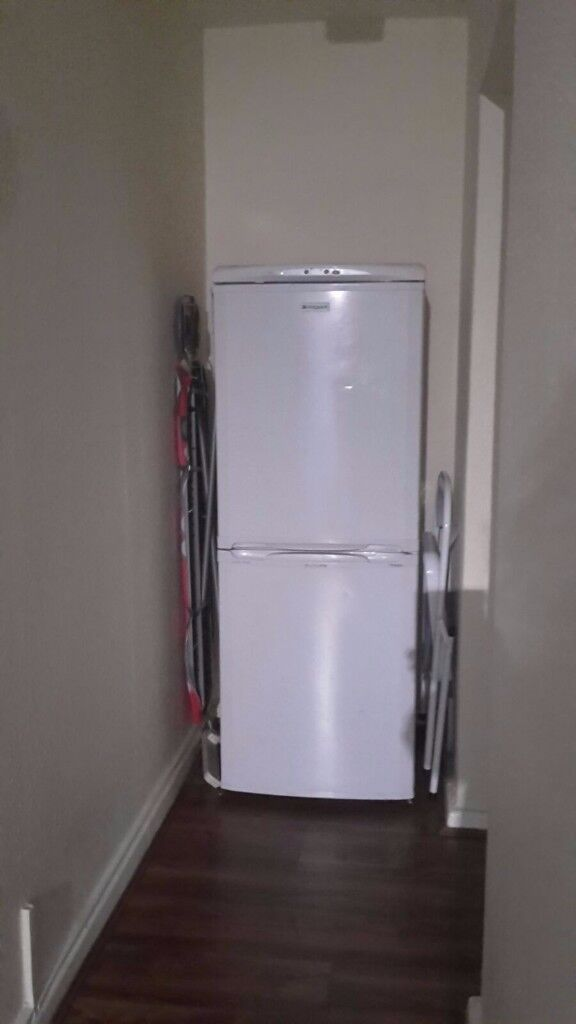 fridge,second hand, hotpoint, good condition ,,must go this week