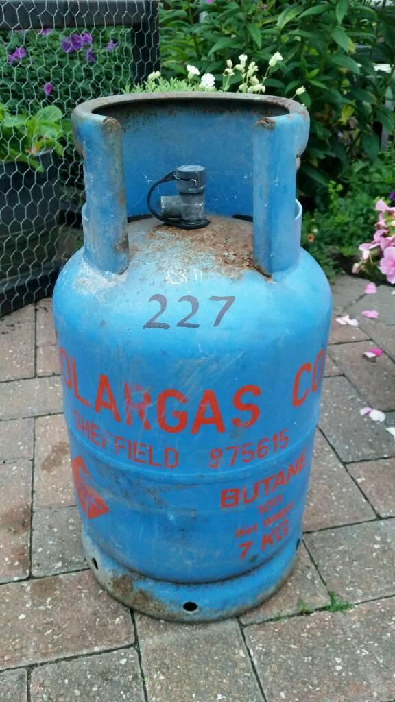 7KG GAS BOTTLE.
