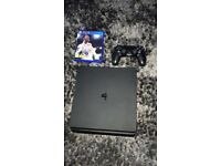 Brand New PlayStation 4 With Fifa 18, 1 Controller And Fortnite Installed. In Perfect Condition.