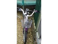 2 girls bikes for sale ages 5-7 and 8- 10 good condition