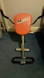 Ab swing/ab cruncher