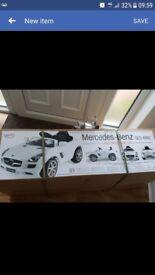 Brand new still in box mercedes-benz benz sls amg electric ride on