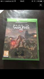 Halo wars Xbox one brand new