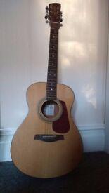 Brunswick Folk Acoustic Guitar.