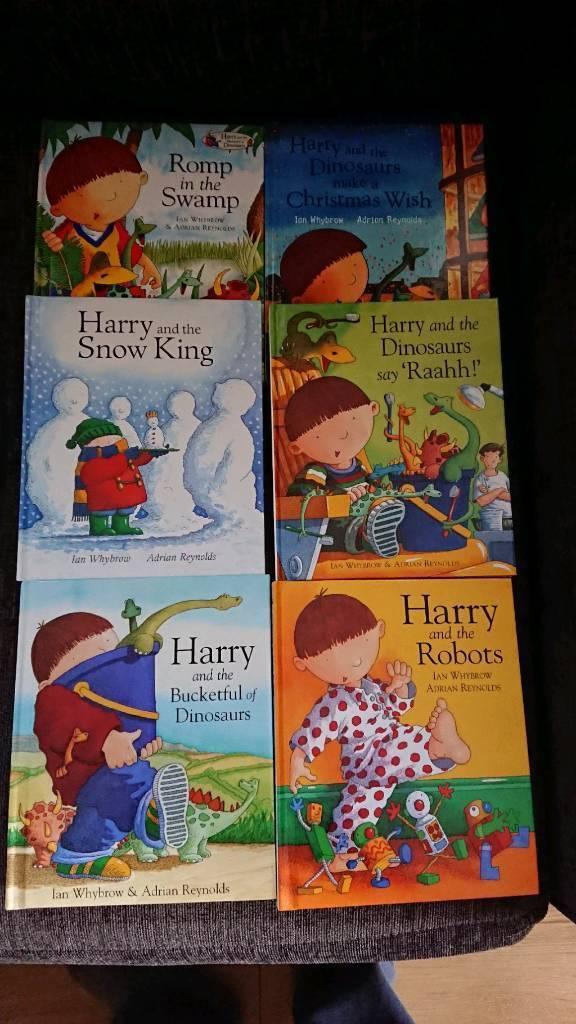 6 x Hardback Harry books