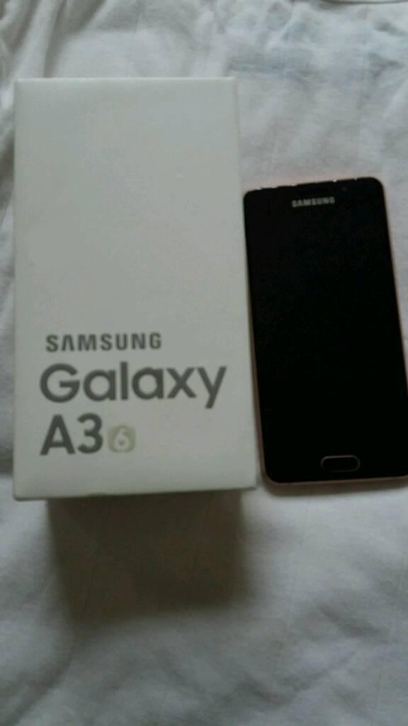 Samsung galaxy a3 like new in box