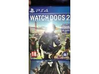 PS4 games various prices see description