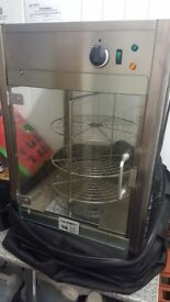 Lincat rotating pizza warmer display cabinet catering commercial excellent condition
