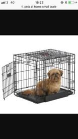 Small pets at home crate