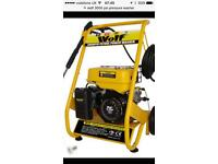 Wolf 200bar 3000psi petrol pressure washer professional