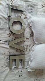 Mirrored love letters