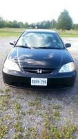 Honda Civic LX Coupe 2002