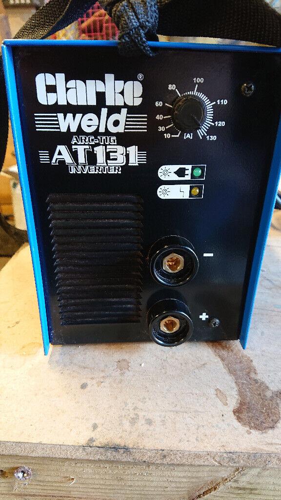 Clarke AT131 TIG/MMA ARC welder as new | in Devizes, Wiltshire | Gumtree