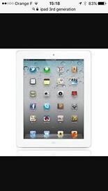 iPad 3rd Gen 16gb