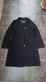 Black per una size 10 coat