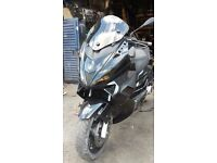 GILERA NEXUS -17K-2008 250CC-FAIRLY CLEAN GOOD ENGINE-HEATED GRIPS SAT-NAV -GOOD QUICK-POWERFUL togo