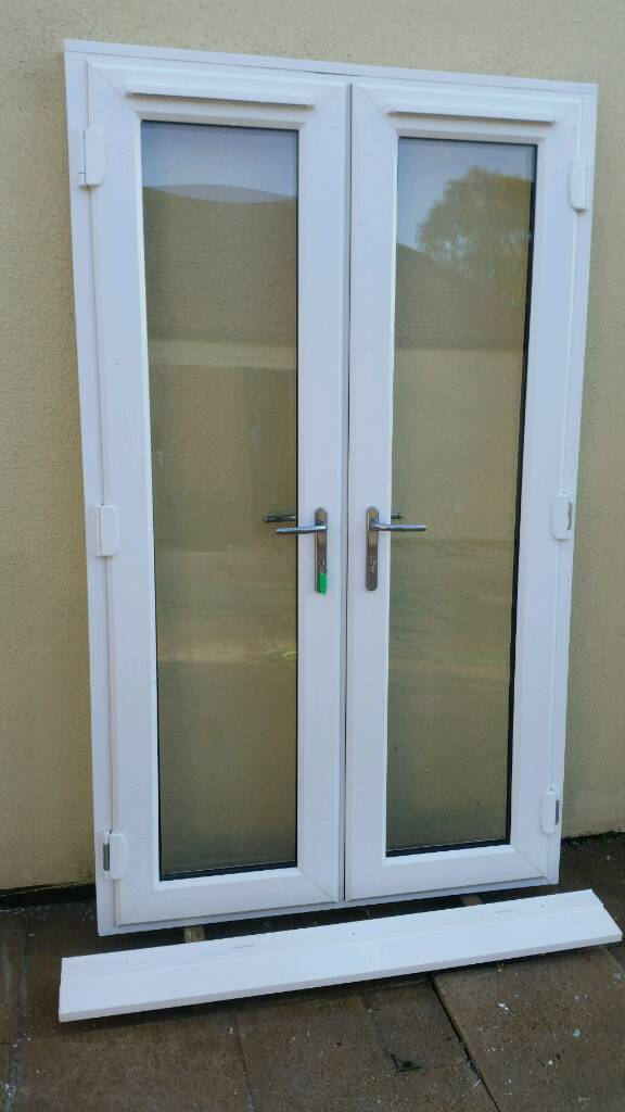 Upvc French Patio Doors Excellent Condition 12 Months Old In