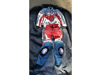 Two piece Honda leathers