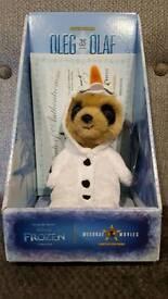 Disney's Frozen Oleg as Olaf Meerkat Toy