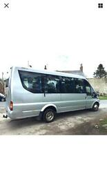 MINIBUS AND COACH HIRE 6-53 SEATER