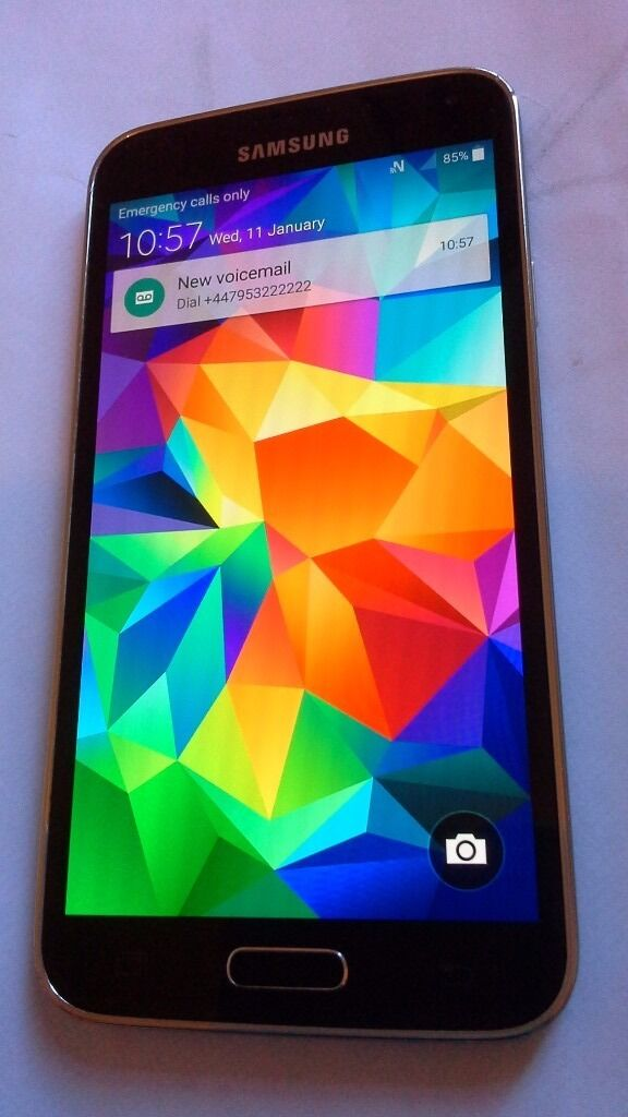 Samsung galaxy s5 open to any network in a very good conditionin ManchesterGumtree - Samsung galaxy s5 factory unlocked Good condition Come with boxed charger and case Also had the screen protector on Bargain £ 125 no offer please I can deliver locally Thanks