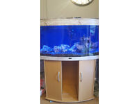 180 l fish tank with accessories