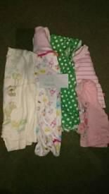 0-6 month girls bundle
