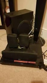 LG DVD 5.1 surround sound set