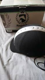 Adult Requisite riding hat brand new with bag and box